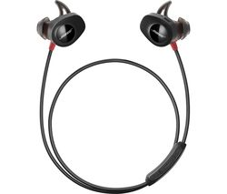 BOSE SoundSport Pulse Wireless Bluetooth Headphones - Black & Red
