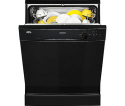 ZANUSSI ZDF21001NA Full-size Dishwasher - Black
