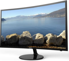 "SAMSUNG V27F39S Smart 27"" Curved LED TV"