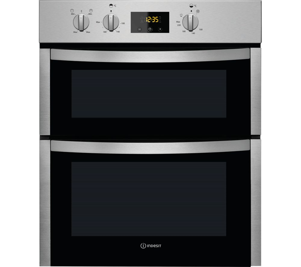 Indesit INDESIT  DDU 5340 C IX Electric Double Oven  Stainless Steel Stainless Steel