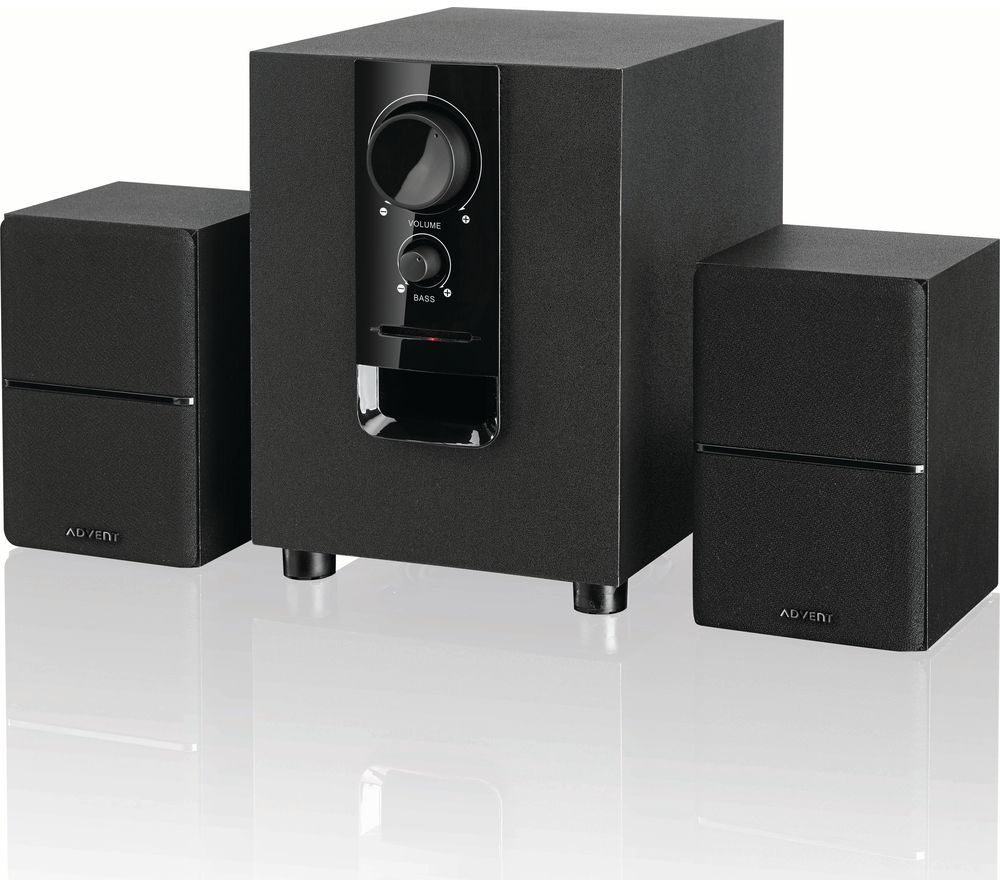 ADVENT ASP21BK17 2.1 PC Speakers - Black
