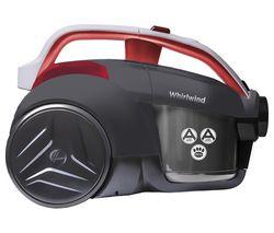 HOOVER Whirlwind LA71WR20 Cylinder Bagless Vacuum Cleaner - Grey