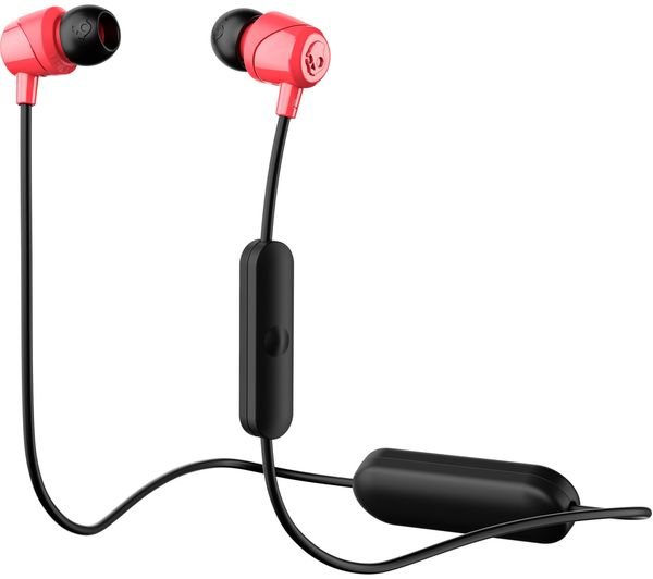 skullcandy jib wireless bluetooth headphones black red deals pc world. Black Bedroom Furniture Sets. Home Design Ideas