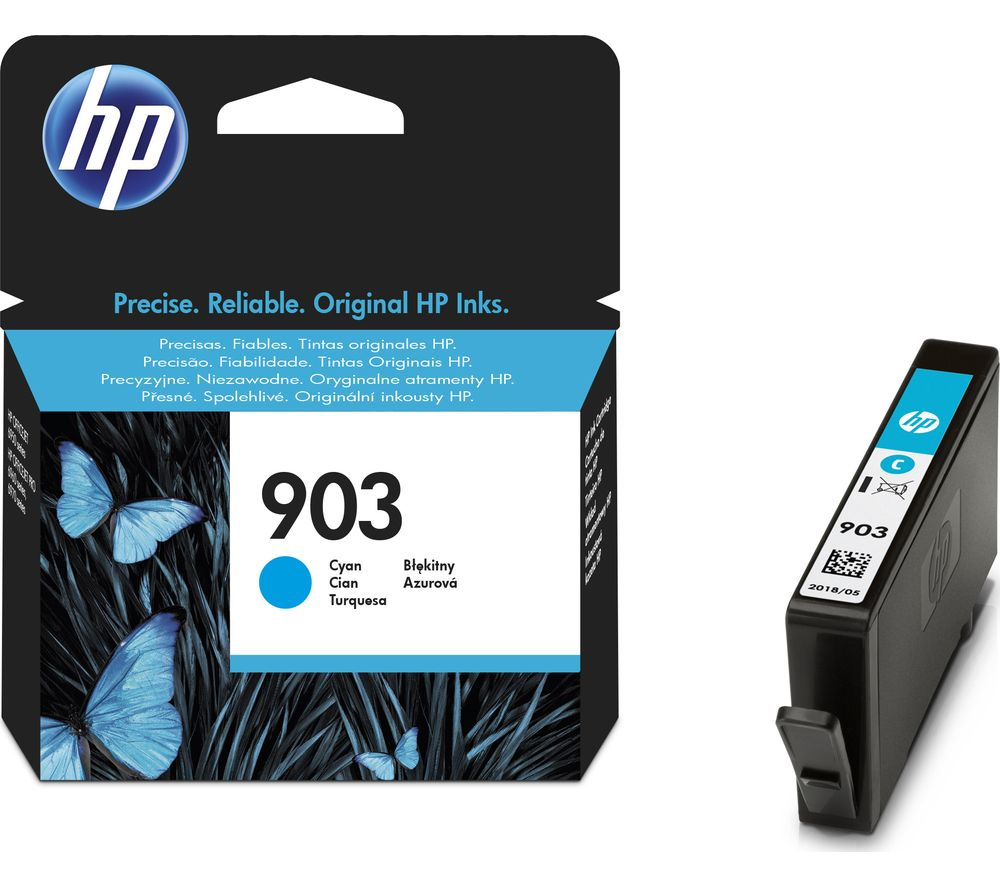 HP 903 Cyan Ink Cartridge Cyan