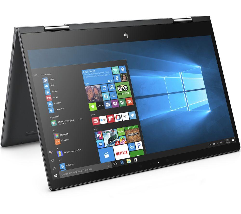 HP ENVY x360 15-bq051sa Touchscreen 2 in 1 - Dark Ash Silver + Office 365 Personal