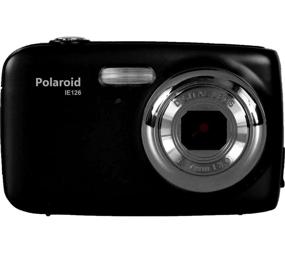 POLAROID IE126-BLK Compact Camera - Black