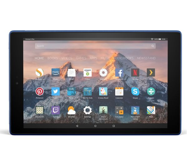 Buy Amazon Fire Hd 10 Tablet With Alexa 2017 32 Gb