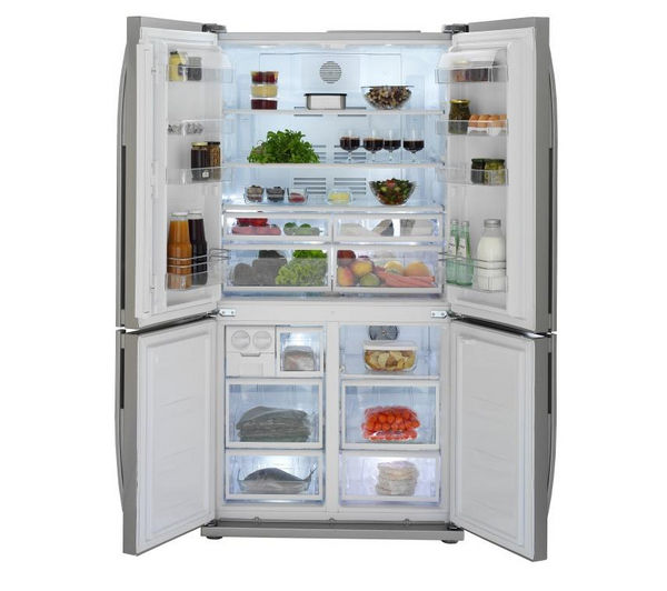 buy beko ecosmart gne114610apx american style fridge. Black Bedroom Furniture Sets. Home Design Ideas