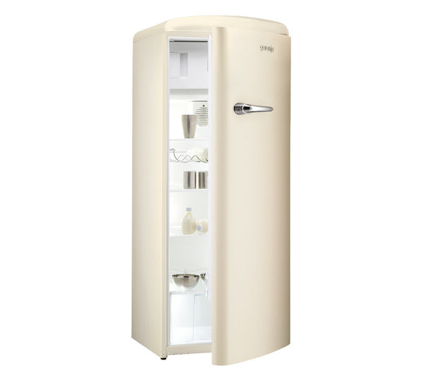 buy gorenje rb60299oc tall fridge cream free delivery. Black Bedroom Furniture Sets. Home Design Ideas