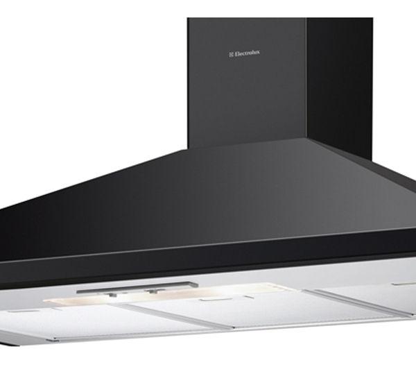 buy electrolux efc90151k chimney cooker hood black. Black Bedroom Furniture Sets. Home Design Ideas