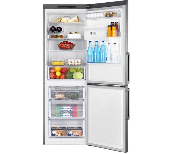 buy samsung rb29fwjndsa 60 40 fridge freezer silver free delivery currys