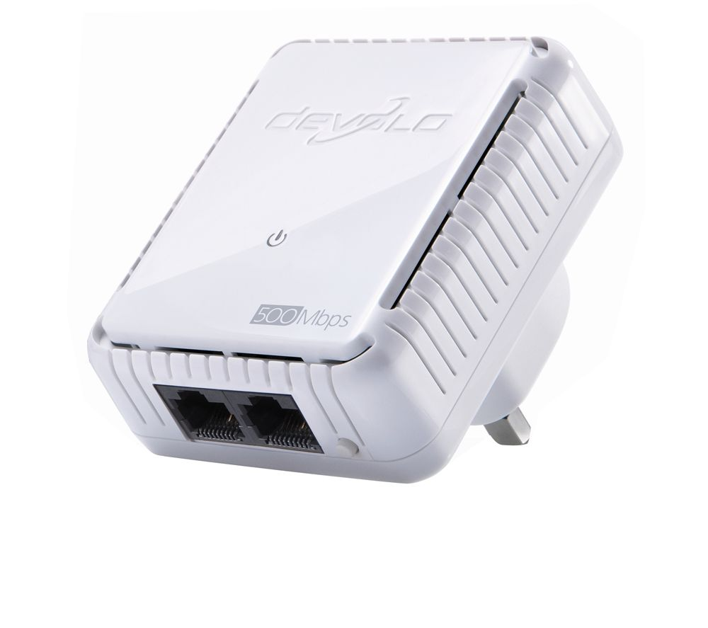 DEVOLO dLAN Duo 500 Mbps Powerline Adapter