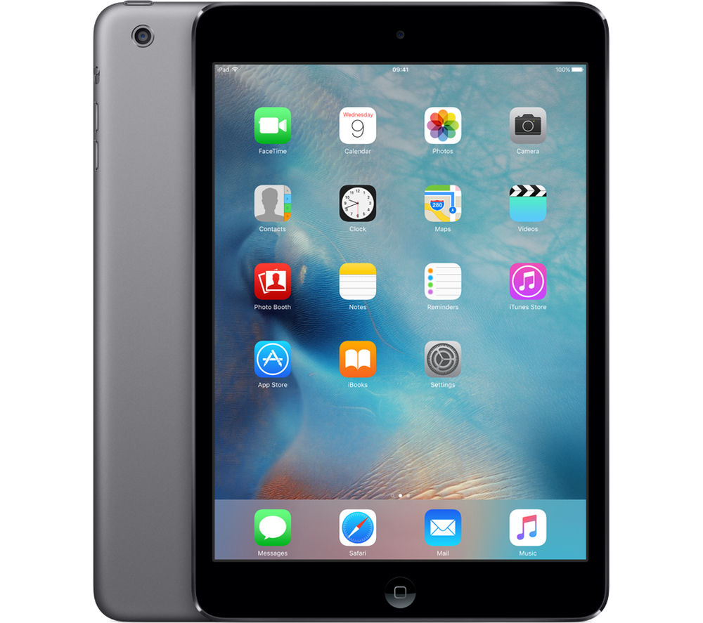 apple ipad mini 2 16 gb space grey deals pc world. Black Bedroom Furniture Sets. Home Design Ideas