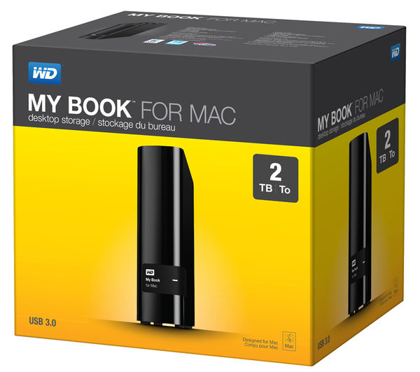 buy wd my book for mac external hard drive 2 tb black free delivery currys. Black Bedroom Furniture Sets. Home Design Ideas