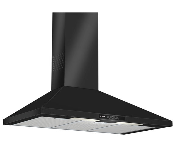 buy bosch dww09w460b chimney cooker hood black free delivery currys. Black Bedroom Furniture Sets. Home Design Ideas
