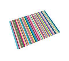 JOSEPH JOSEPH Glass Chopping Board - Thin Stripes