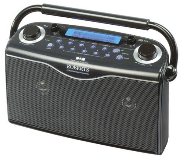 ROBERTS Gemini RD21 Portable DAB Radio - Black