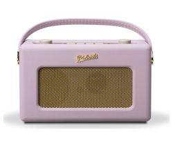 ROBERTS Revival RD60 Portable DAB Radio - Pastel Pink