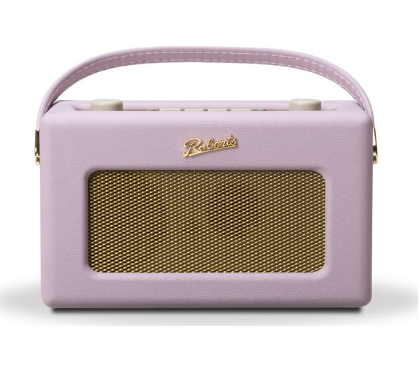 Click to view more of ROBERTS  Revival RD60 Portable DAB Radio - Pastel Pink, Pink