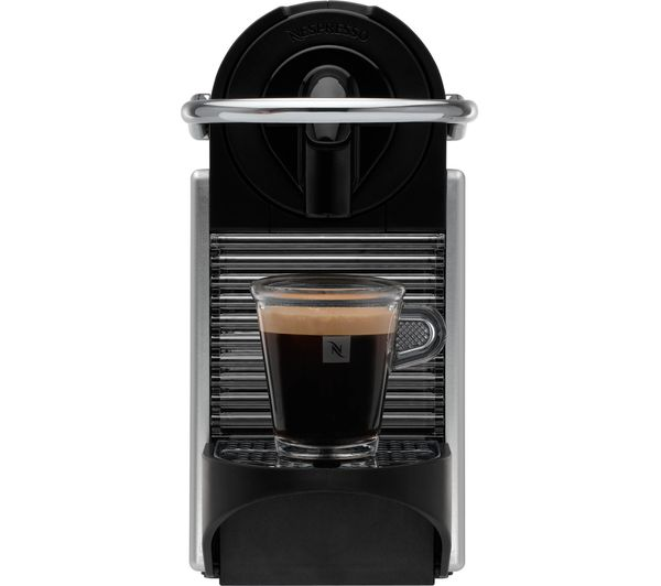 buy nespresso by magimix pixie 11323 coffee machine with. Black Bedroom Furniture Sets. Home Design Ideas