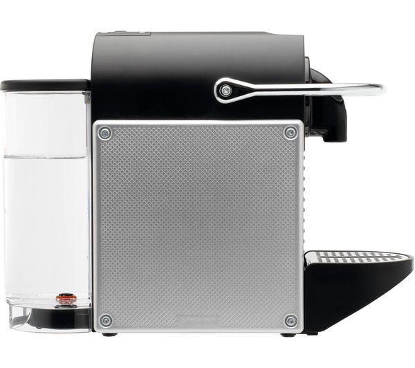 nespresso by magimix pixie coffee machine with aeroccino aluminium - Nespresso Frother