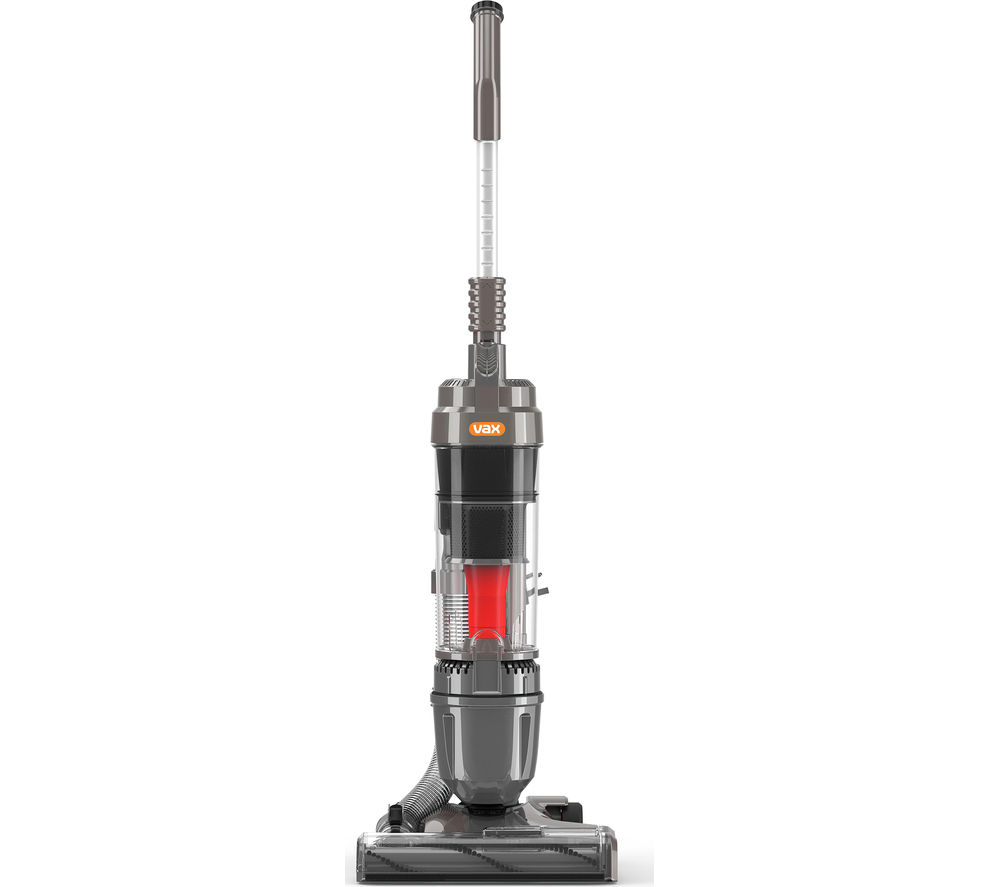 VAX  Air Living U89MALe Upright Bagless Vacuum Cleaner  Graphite Black & Red Graphite