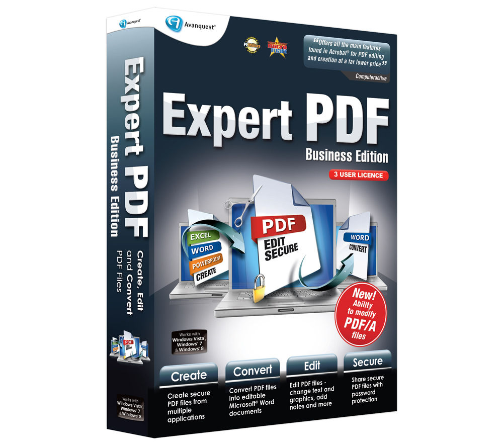 AVANQUEST Expert PDF 9 Business Edition