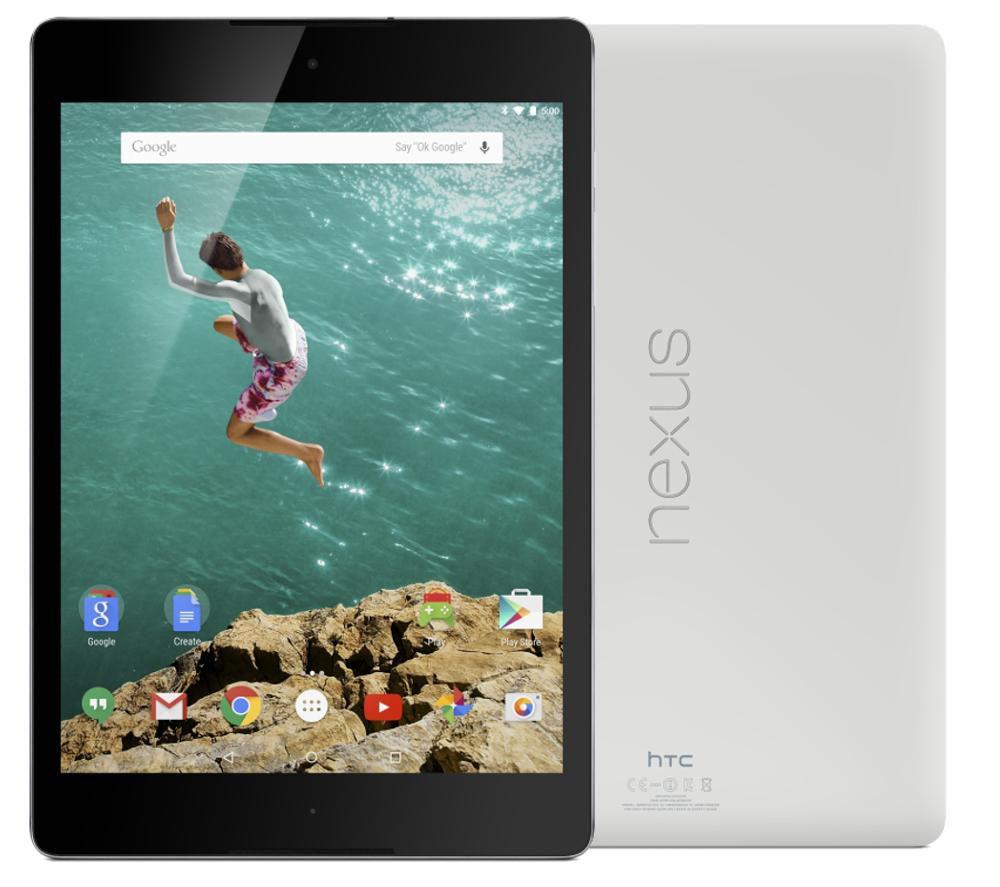 """HTC Google Nexus 9 8.9"""" 16GB Tablet"""
