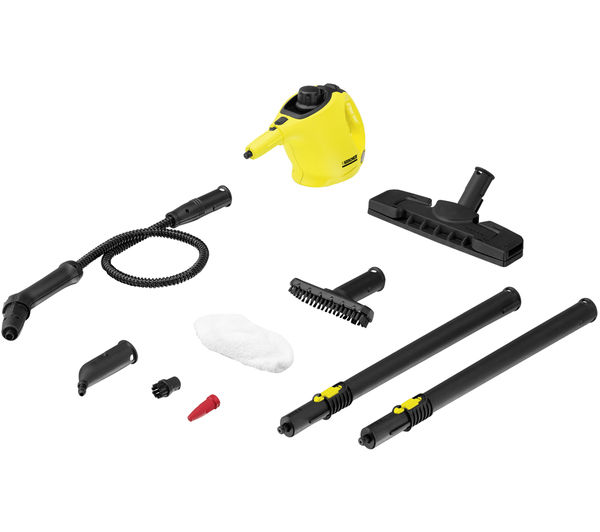 buy karcher sc1 premium steam cleaner yellow black free delivery currys. Black Bedroom Furniture Sets. Home Design Ideas