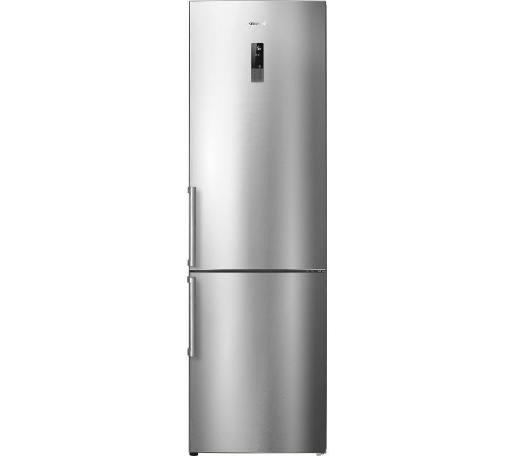 Image of Kenwood KFC60SS15 Fridge Freezer - Stainless Steel, Stainless Steel