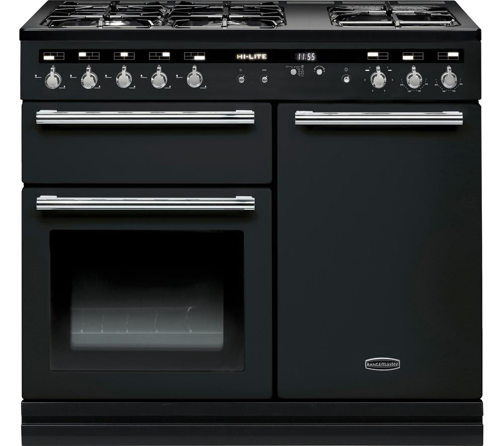 rangemaster hi lite 100 dual fuel range cooker review. Black Bedroom Furniture Sets. Home Design Ideas