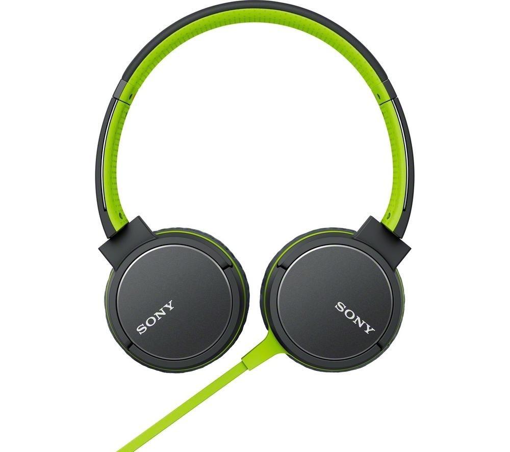 SONY MDR-ZX660AP Headphones - Green