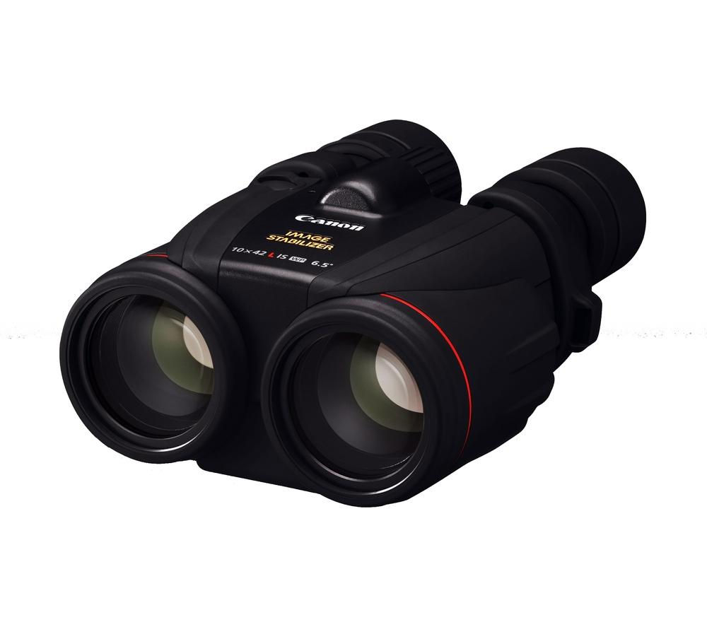 CANON 10 x 42 mm L IS WP Binoculars - Black