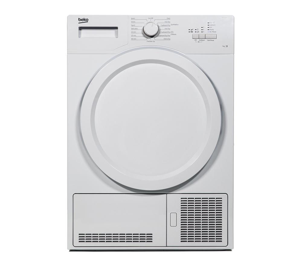 BEKO DCX71100W Condenser Tumble Dryer - White