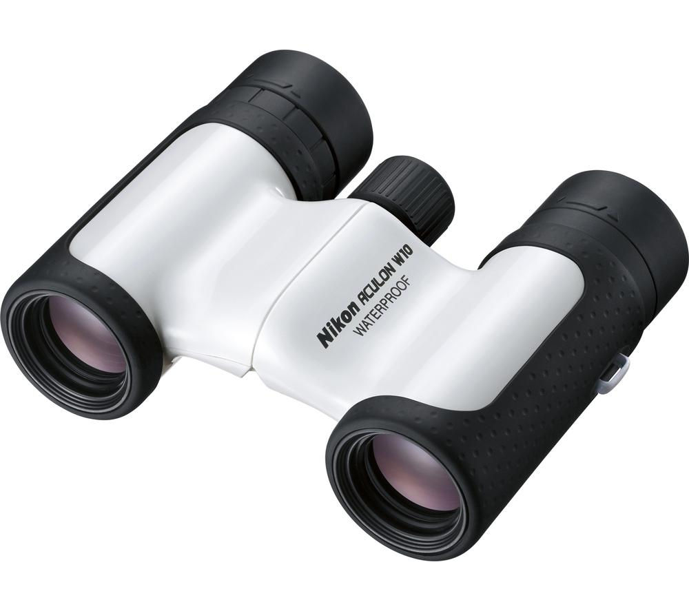 NIKON Aculon W10 10 x 21 mm Binoculars - White