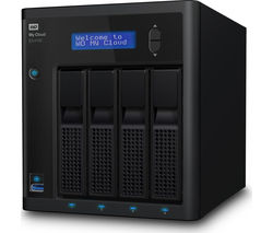 WD MyCloud EX4100 External NAS Enclosure - 4 Bay
