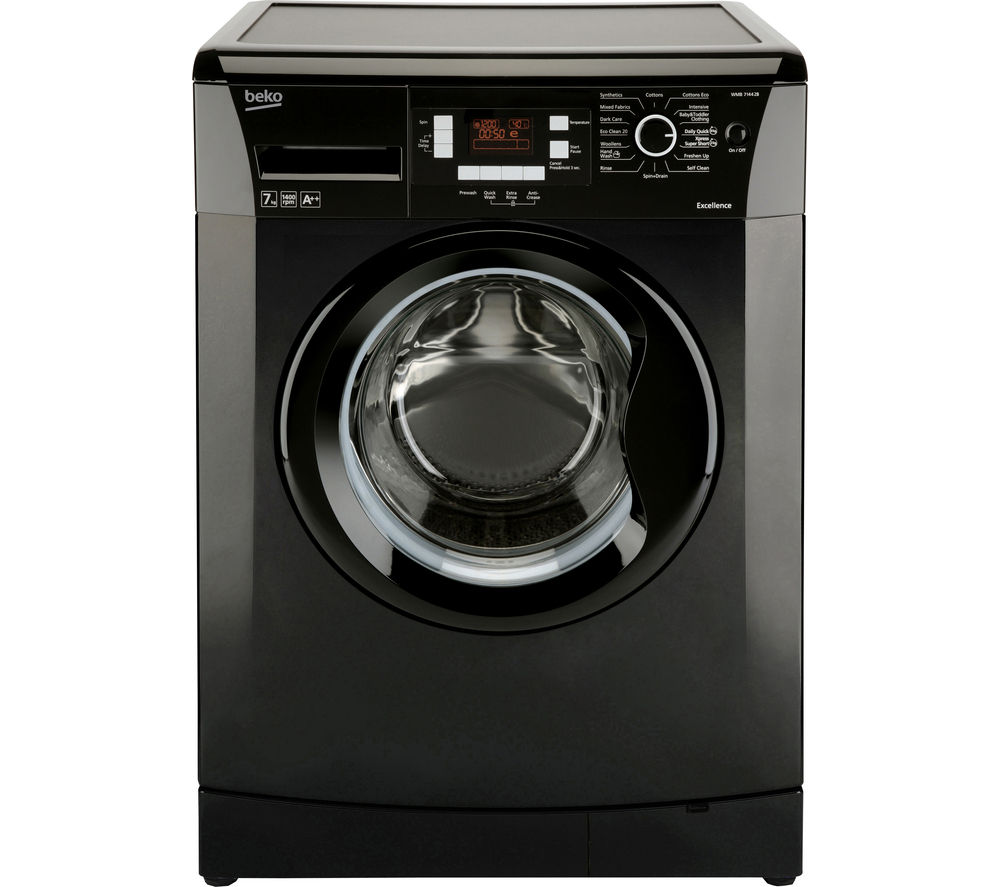 BEKO  WMB714422B Washing Machine  Black Black