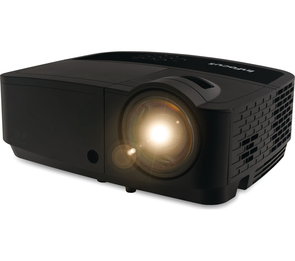 Buy infocus in118hdsta 3d short throw projector free for Small tv projector
