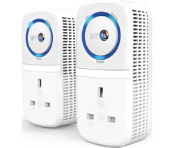 BT Broadband Extender Flex 1000 Powerline Adapter Kit - Twin Pack
