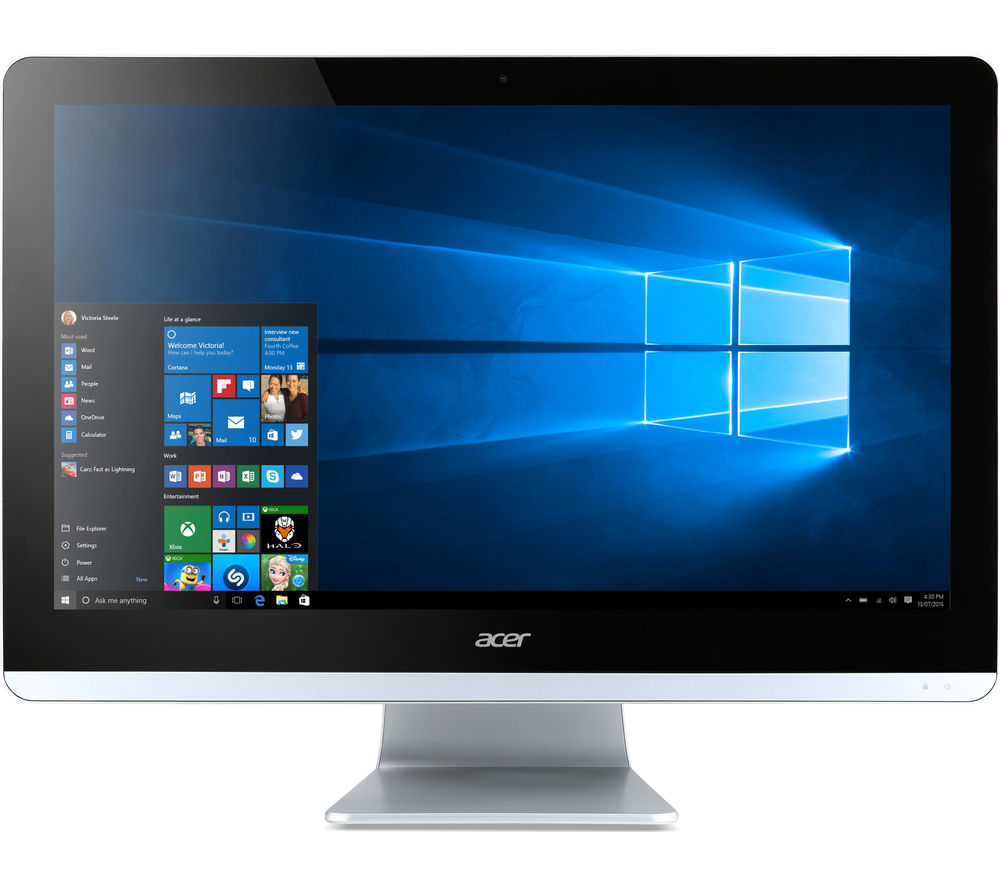 acer aspire zc 700 19 5 all in one pc deals pc world. Black Bedroom Furniture Sets. Home Design Ideas