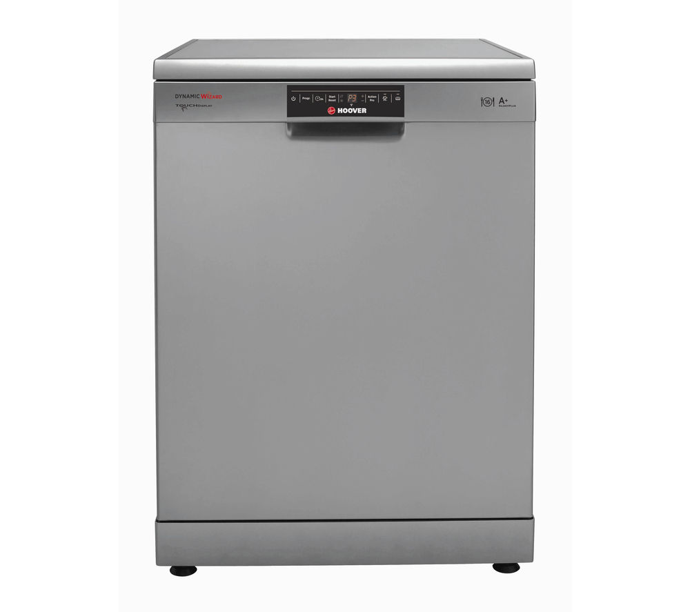 HOOVER Wizard DYM762TX Full-size Smart Dishwasher - Stainless Steel