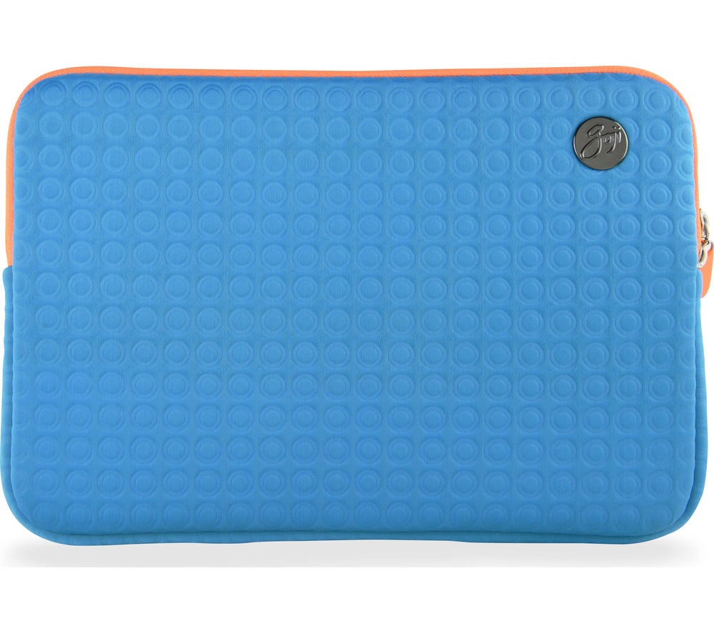 "GOJI GSMTQ1116 11"" MacBook Sleeve - Turquoise & Orange"