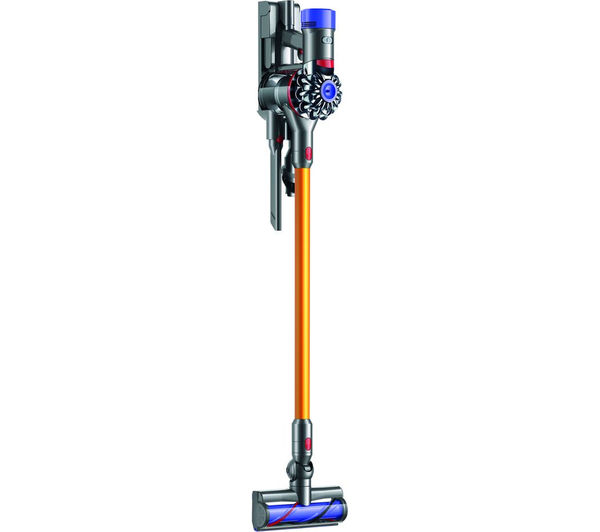 buy dyson v8 absolute cordless bagless vacuum cleaner nickel iron free delivery currys. Black Bedroom Furniture Sets. Home Design Ideas