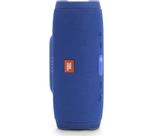 Image of JBL Charge 3 Portable Wireless Speaker - Blue