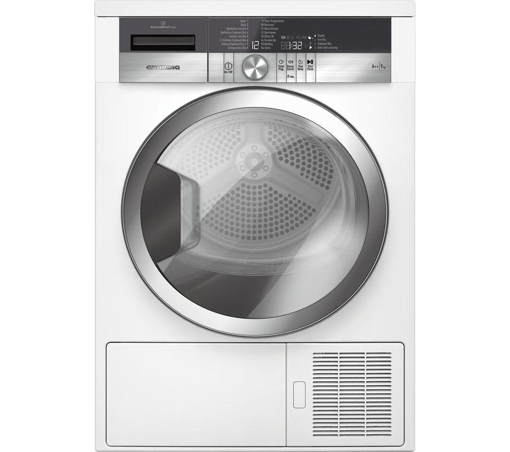 Heat Pump Dryer ~ Buy grundig gtn cgcw heat pump tumble dryer white