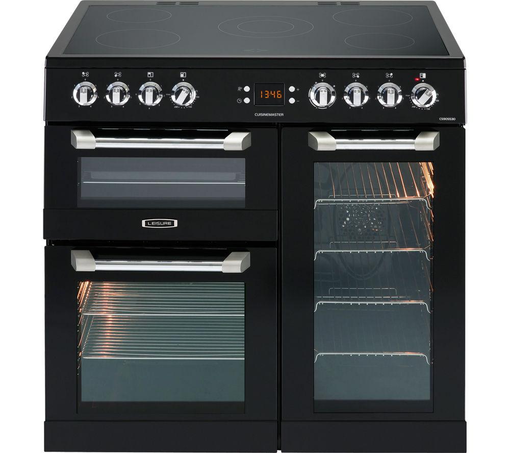 LEISURE Cusinemaster CS90C530K Electric Ceramic Range Cooker - Black