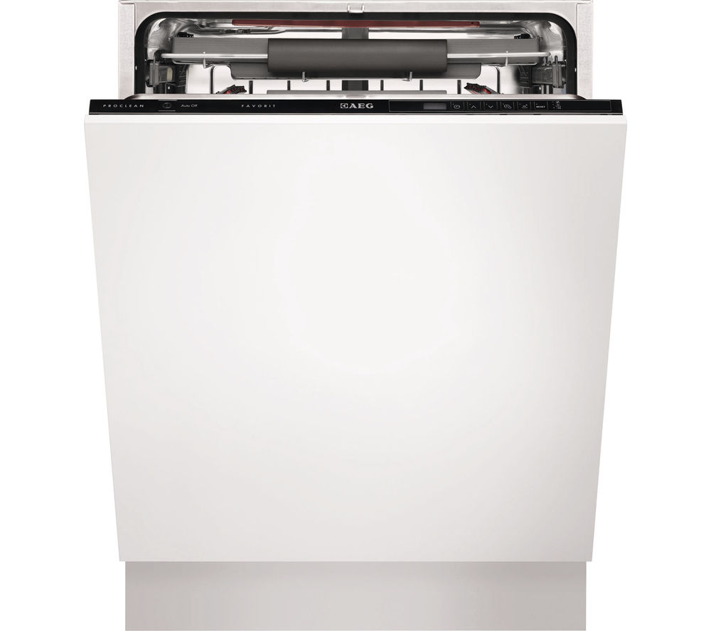 AEG  F55700V10P Fullsize Integrated Dishwasher