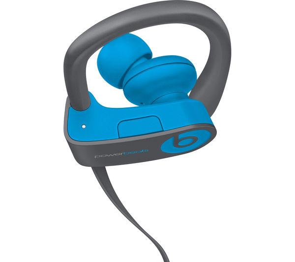 beats by dr dre powerbeats3 wireless bluetooth headphones flash blue deals pc world. Black Bedroom Furniture Sets. Home Design Ideas