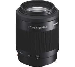 SONY DT 55-200 mm f/4-5.6 SAM II Telephoto Zoom Lens