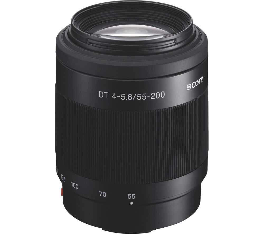 SONY DT 55-200 mm f/4-5.6 SAM II Telephoto Zoom Lens